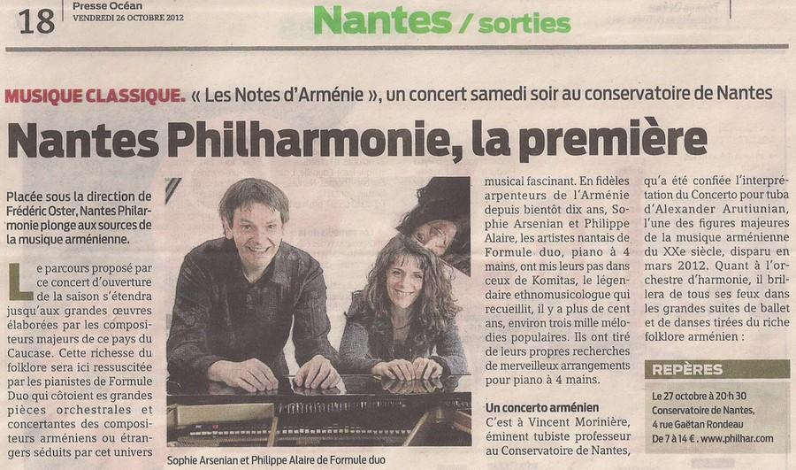 Nantes Philharmonie, la première