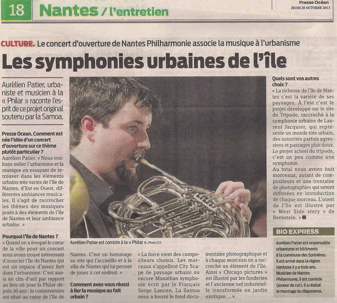 Les symphonies urbaines de l'île