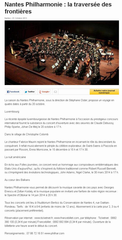 Nantes Philharmonie : la traversée des frontières
