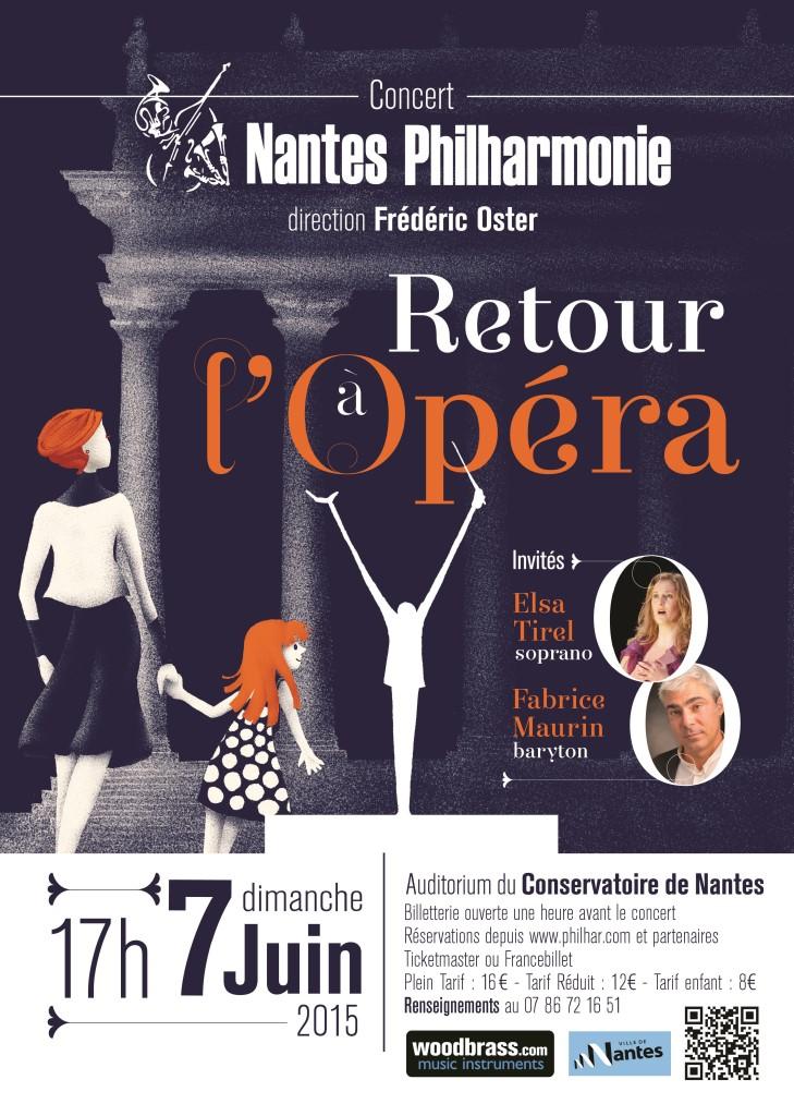 Retour à l'opéra