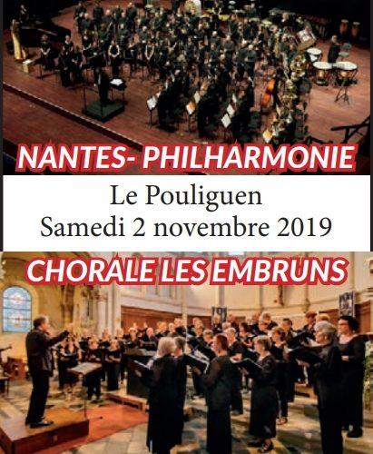 Concert pourt les 50 ans de la chorale Les Embruns